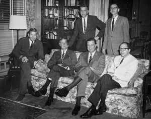 Meeting at Governor's Mansion 1964